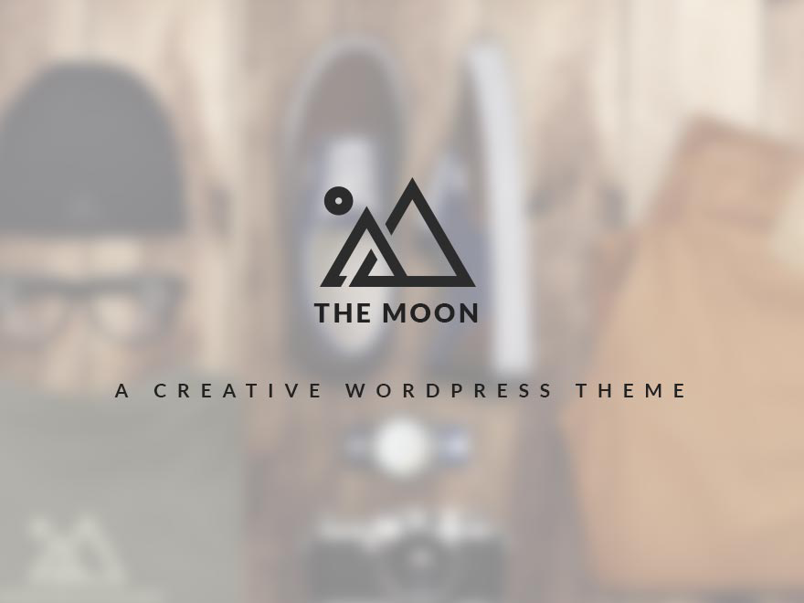 The Moon - Creative One Page Multi Purpose Theme